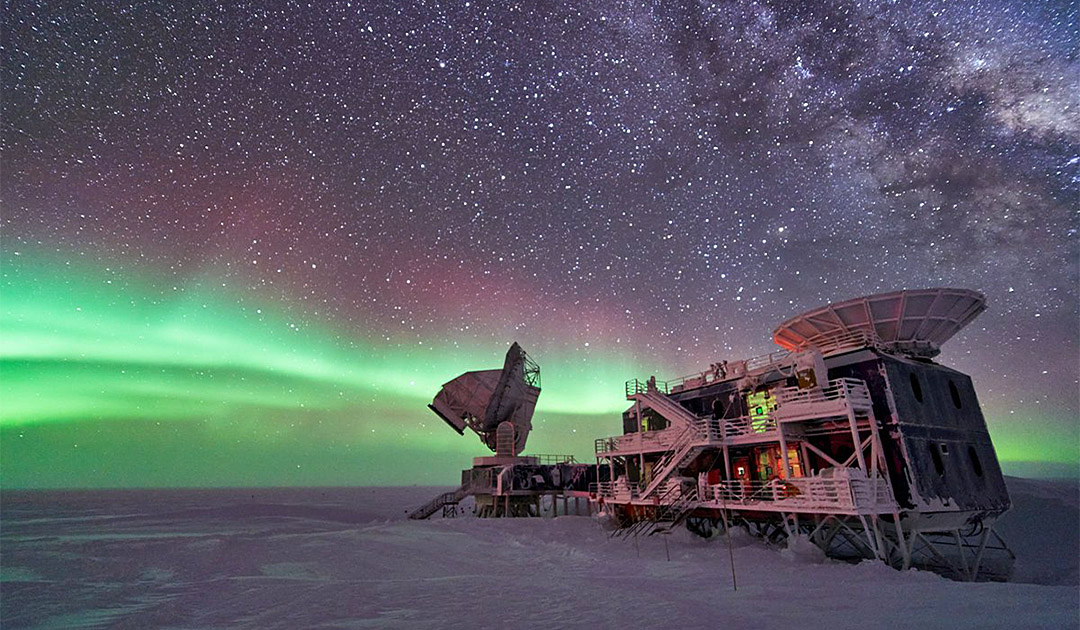 It has never been so cold at the South Pole
