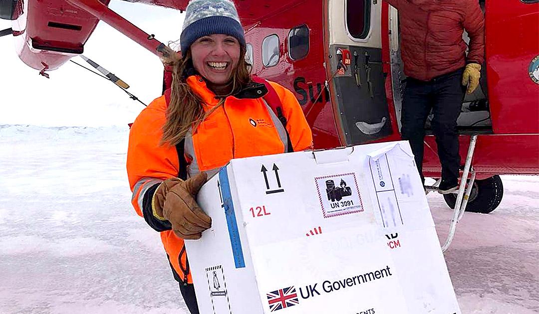 Covid-19 Impfstoff hat die Antarktis erreicht