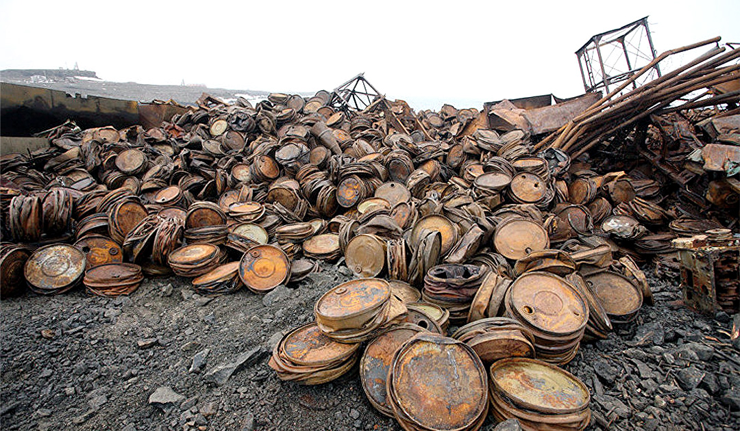 The big cleanup in the Russian Arctic